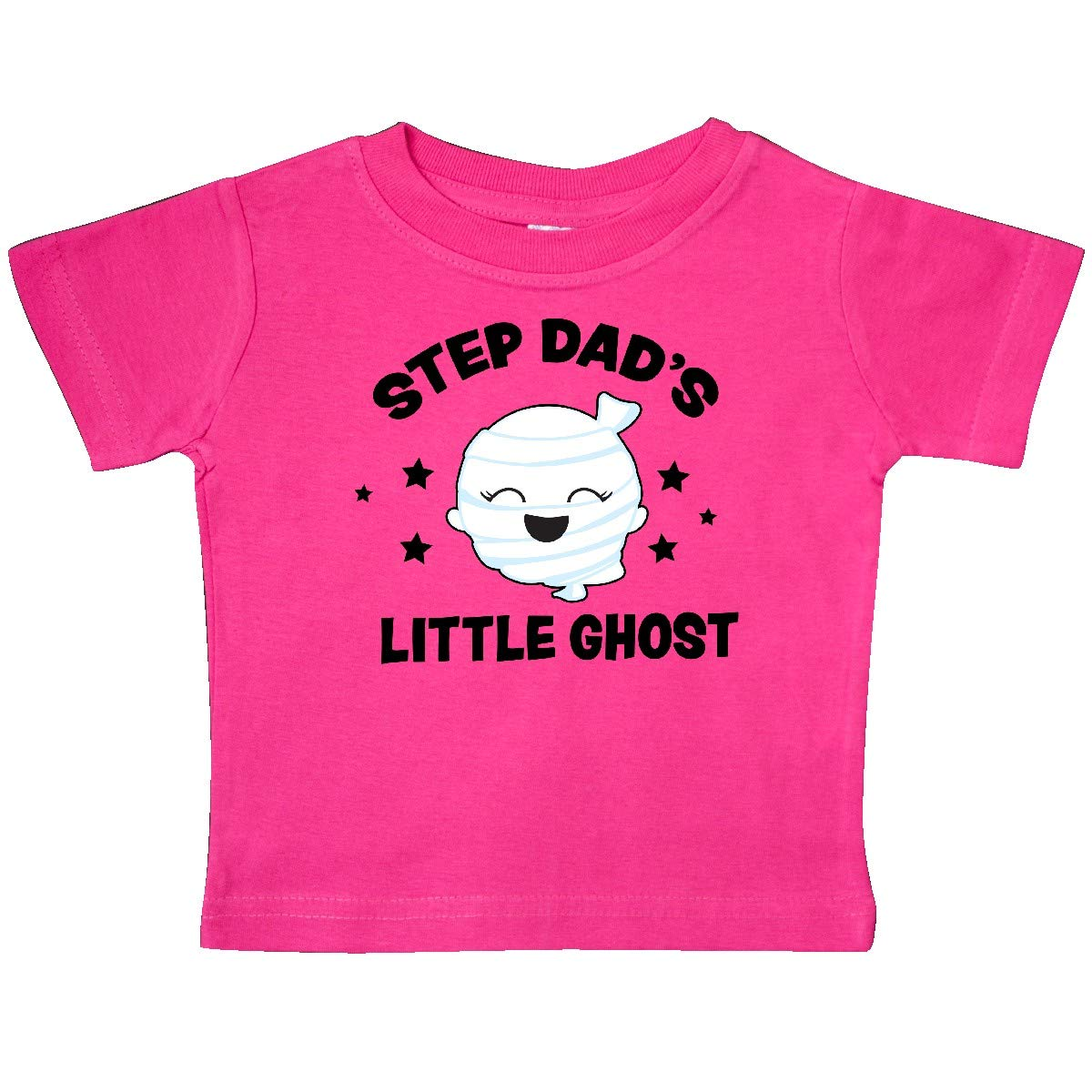 inktastic Cute Step Dads Little Ghost with Stars Baby T-Shirt