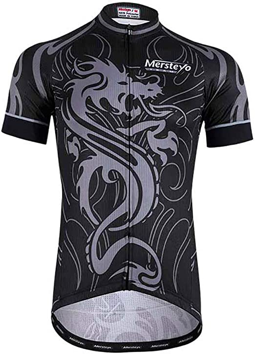 MHSHXY Maillot Ciclismo Verano MontañA Jersey Ciclismo Camisa PoliéSter Ciclismo Transpirable Ajuste para Carreras Deportes Al Aire Libre Blue-XXXL: Amazon.es: Hogar