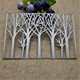 Nice Tree Cutting Dies Background Metal Cutting Dies Stencils for Card Making Decorative Embossing Suit Paper Cards…