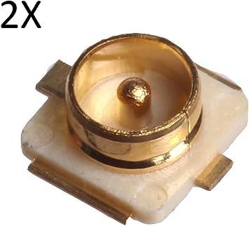 tecnostore® 2 x conector IPX macho Antena Computer Tablet PCB IPEX 20279 – 001E Cable PC