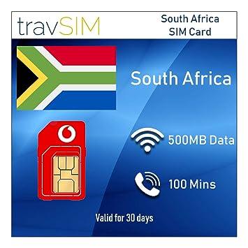 travSIM: Tarjeta SIM prepagada de Vodacom para Sudáfrica con ...