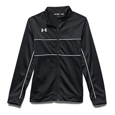 631a55fc8 Amazon.com: Under Armour Boys' UA Rival Knit Warm Up Jacket: Clothing