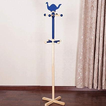 XIPOZAC Azul Perchero para niños Perchas Perchas Dibujos ...