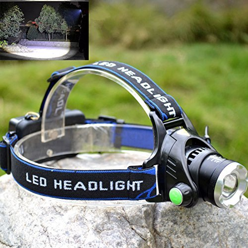 MDL Discovery Headlamp Cree XPE Rechargeable and Compact High Zoom LED Genuine 720 Lumens Output with 3 Lighting Modes for Reading, Running, Camping, Cycling or Hiking by MDL Led Lighting (Image #7)