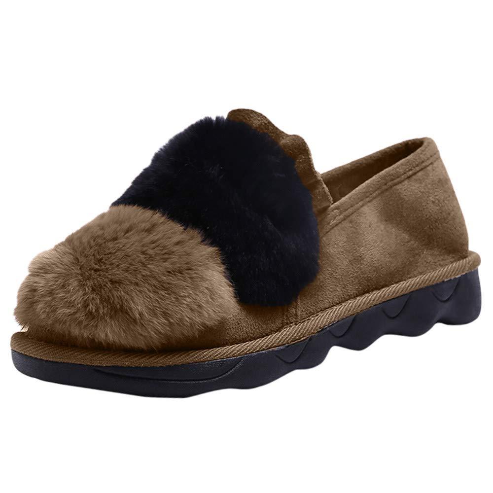 Botas de Nieve ZARLLE Zapatos Casuales para Mujeres Otoño Invierno Zapatos Hechos a Mano Zapatos Caminar con Cordones Viajes De Trabajo Al Aire Libre: ...
