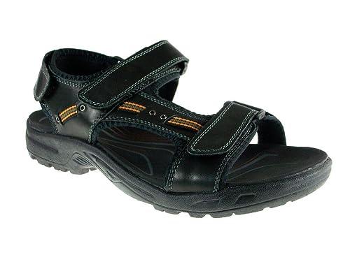 Men's P3003 Leather Adjustable Sport Sandals