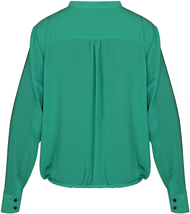 a6bfdbbb23a Gibson Latimer Button Down Blouse with Pockets (Green