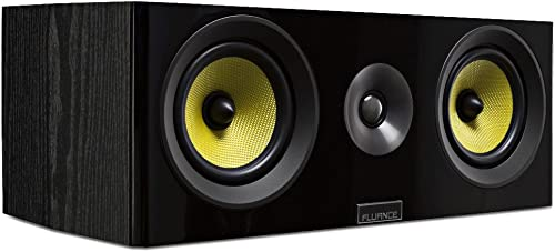 Fluance Signature Series HiFi Two-Way Center Channel Speaker for Home Theater HFC