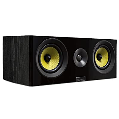 Fluance Signature Series HiFi Two-Way Center Channel Speaker