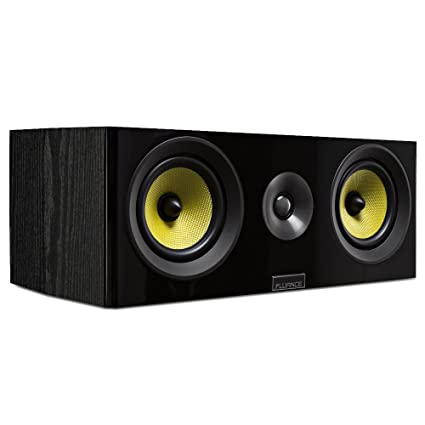Fluance Signature Series HiFi Two Way Center Channel Speaker For Home Theater HFC