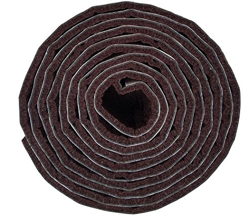 TYH Supplies Self-Stick Heavy Duty Felt Strip Roll for Hard Surfaces (1/2