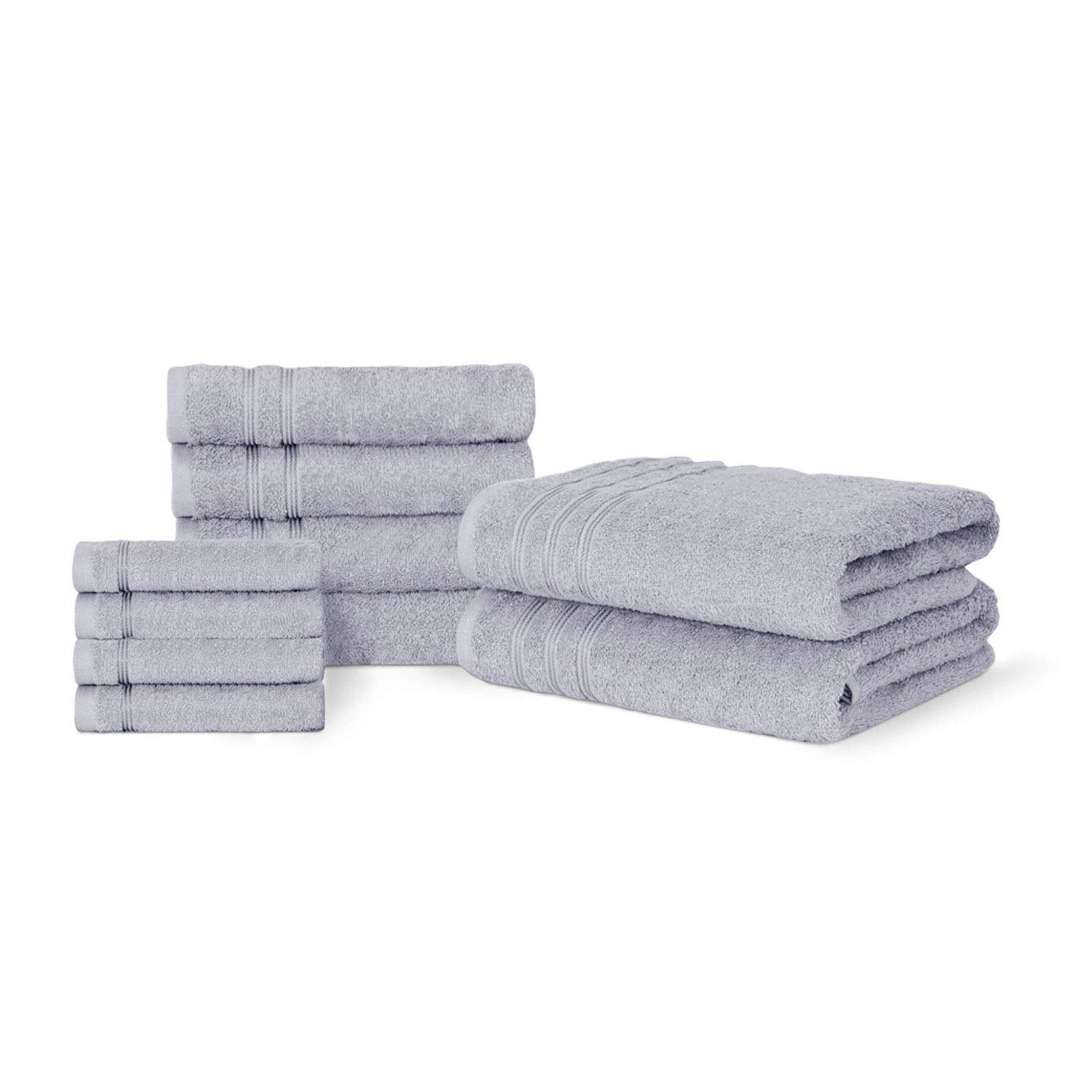 Dickens 100% Egyptian Cotton Soft Touch Lisbon Luxury Collection Towel Set (Black)