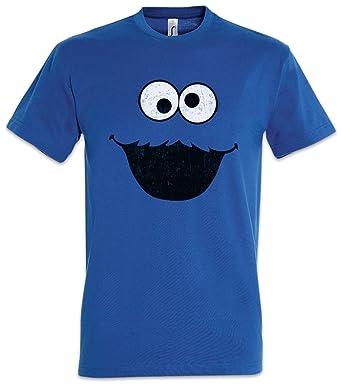 d8e2a3ca98 Urban Backwoods Cookie Monster T-Shirt - Kekse Bert Krümel Puppet Sesame  Monster Place Sesamstraße Ernie TV USA Street Sizes S - 5XL: Amazon.co.uk:  Clothing