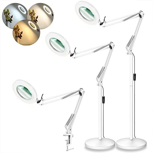 LANCOSC Magnifying Floor Lamp