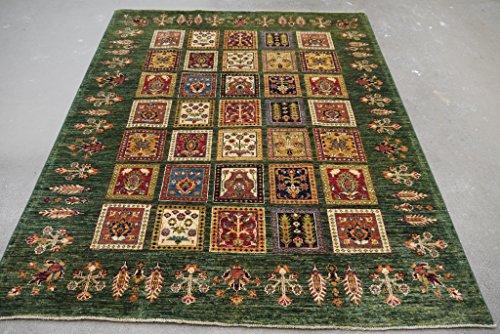 Babak's Oriental Carpets Chobi Ziegler Handmade Afghan Rug 6'5