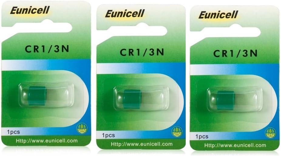 3 X Eunicell 3n Dl1 3n 2l76 Batterie 3v Lithium Kamera