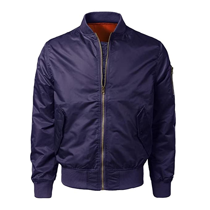 ♚Btruely Herren Chaqueta Moto Hombres Calentar Abrigo Primavera/Otoño/Invierno Casual Solid Slim Bomber Jacket Zipper Outwear: Amazon.es: Ropa y accesorios