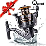 Qwest Spinning Fishing Reel Right Left Handle Ambidextrous