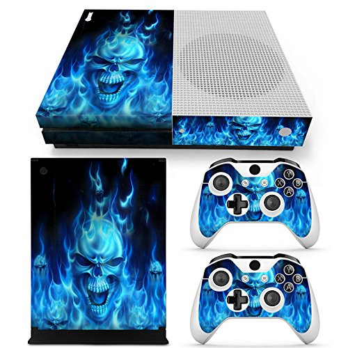 Video Game Accessories Video Games & Consoles Xbox One X Skull Skin Sticker Console Decal Vinyl Xbox One Controller
