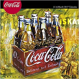 ``LINK`` Coca-Cola Wall Calendar (2017). response prized clearly Marine standard