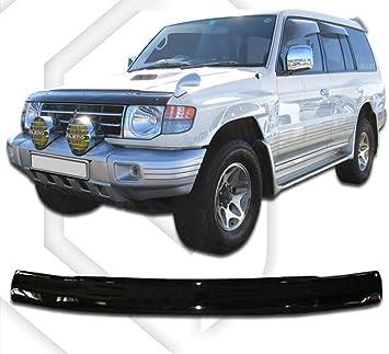 Protection de capot//D/éflecteurs de capot Deflettori del cofano di protezione//Deflettori frontali per SUBARU XV 2012 up