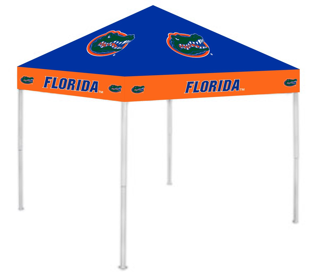 Rivalry RV191-5000 9' x 9' Florida Ultimate Tailgate Pop-Up Gazebo Canopy Tent B000UMJFUE 9 x 9|フロリダゲーターズ フロリダゲーターズ 9 x 9