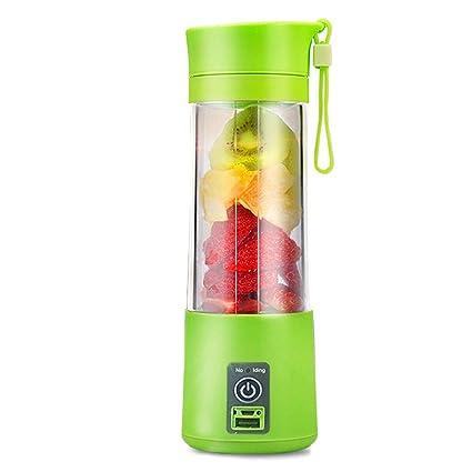Máquina de exprimidor de naranja Frutas SUMGOTT Mezclador de botella de mezclador de fruta recargable portátil eléctrico USB: Amazon.es: Hogar