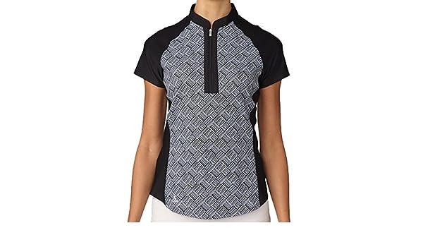adidas Golf Mujer Moda impresión Polo de Manga Corta - TW1285F6 ...