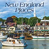 New England Places 2021 7 x 7 Inch Monthly Mini Wall Calendar, USA United States of America Scenic Nature