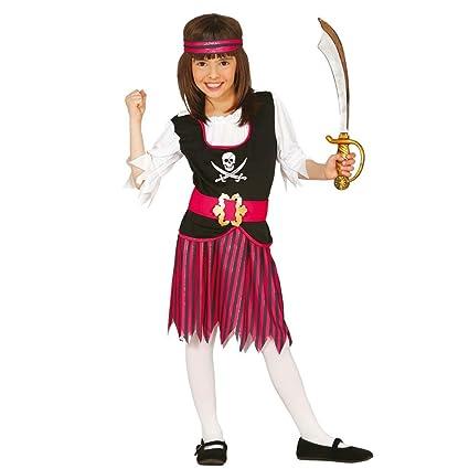 NET TOYS Disfraz Pirata niña Traje Novia bucanero Infantil M ...