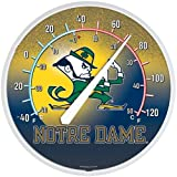 Wincraft NCAA 3021661 Notre Dame Round Thermometer, 12.75-Inch