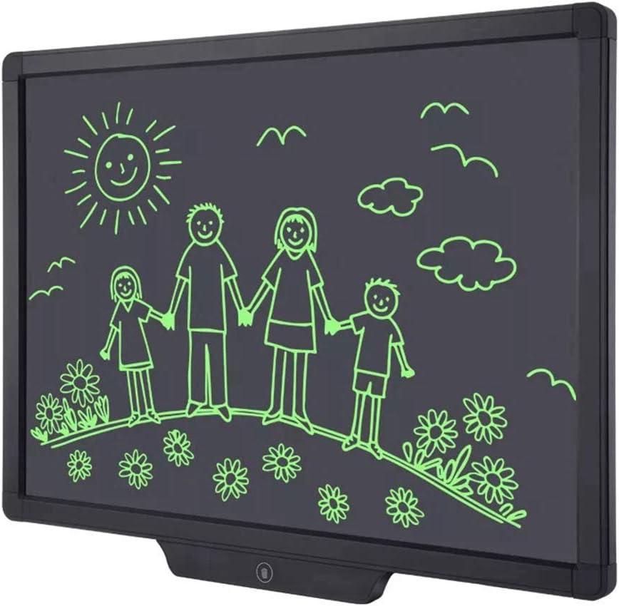 YELLOL Bloc De Notas LCD, De 20 Pulgadas De Escritura A Mano Bloc De Notas Portátil Pintada Tablero De Dibujo para La Oficina De La Escuela A Casa Los Niños Adultos: Amazon.es:
