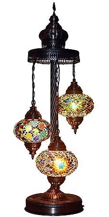 Mosaic table lamp lamp shade turkish lamp moroccan lamp pitcher mosaic table lamplamp shadeturkish lampmoroccan lamppitcher lamp aloadofball Images