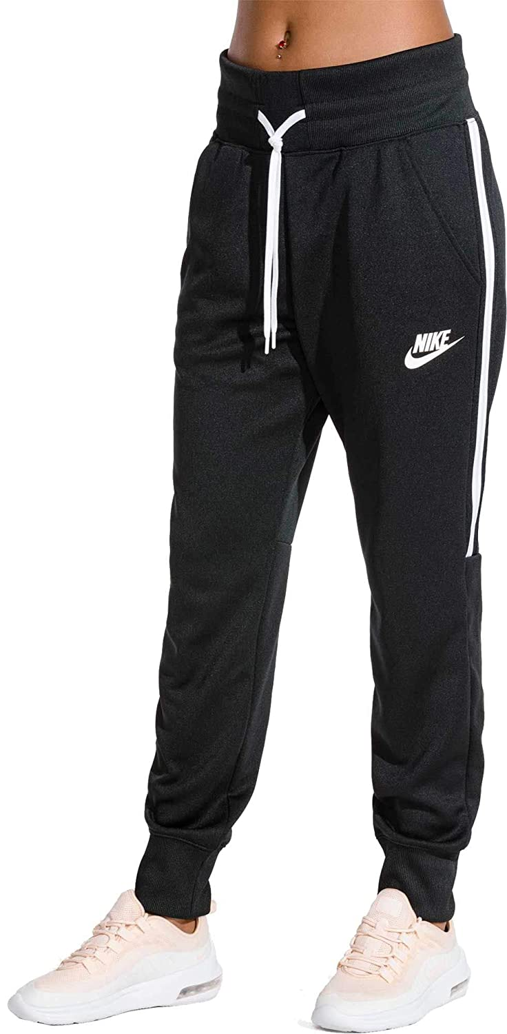 c020d0b2b Nike Women s Sportswear Tracksuit Joggers (Black Light Bone