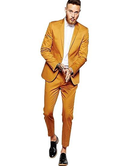 P&G Hombre Traje de Dos Piezas Chaqueta y Pantalones Slim ...