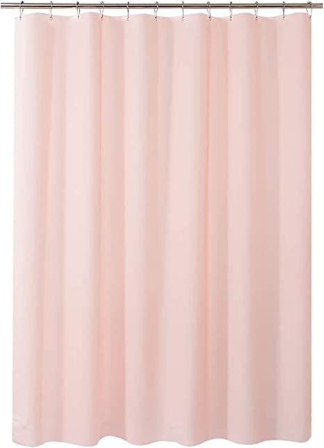 "Plastic Shower Curtain 48/"" W X 72/"" H Eva 8G Shower Curtain With Heavy Duty Clea"