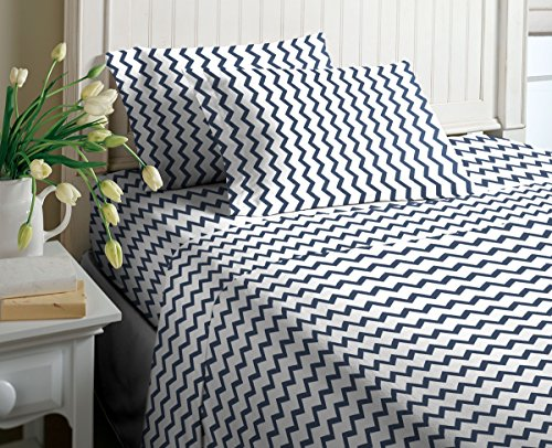 Jersey Sheet Set (Full, Shoshni Blue)