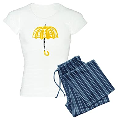 Amazon.com  CafePress - HIMYM Umbrella - Womens Novelty Cotton Pajama Set c37aacc1a
