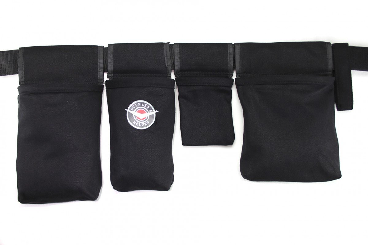 Detailer's Helper - The Ultimate Auto Detailing Tool Belt - Keep Your Auto Detailing Supplies Organized in Perfectly Sized Bags Detailer' s Helper DH0042