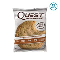 12-Pack Quest Nutrition Peanut Butter Protein Cookie Deals