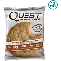12-Pack Quest Nutrition Peanut Butter Protein Cookie