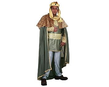 Disfraz de Rey Mago Verde - Traje de Rey Mago: Amazon.es ...