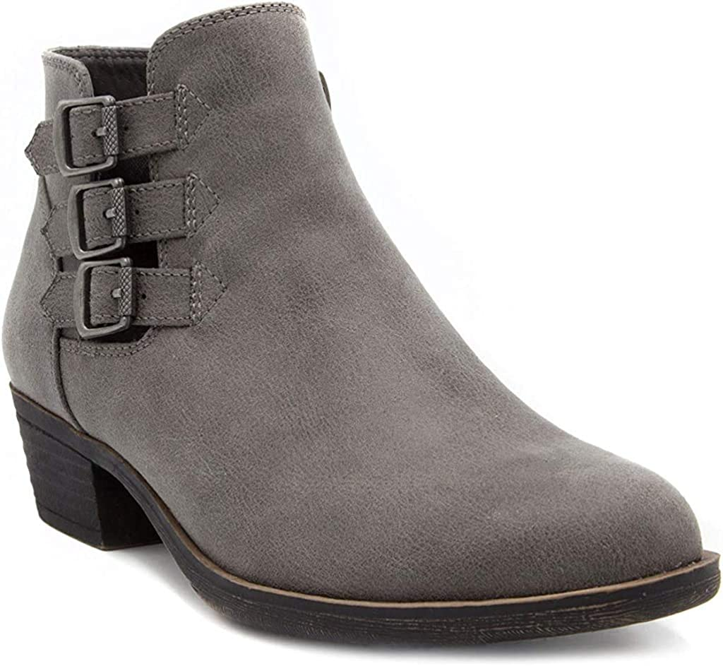 LONDON FOG Womens Tommy Ankle Boot