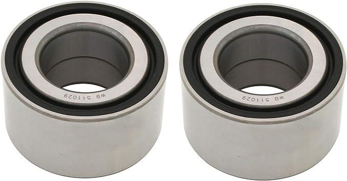 Amazon Com Rear Wheel Bearings For 2003 2006 Honda Cr V 2 4l 4wd Awd Fwd Part Wb511029 Automotive
