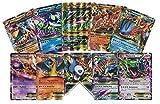 5 Oversized Jumbo EX Promo Pokemon Cards! No Duplicates! Includes 5 Jumbo Toploader