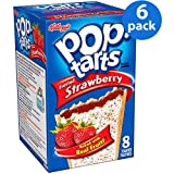 Kellogg's Pop Tarts Strawberry Sensation