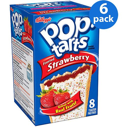 Kellogg's Pop Tarts Strawberry Sensation