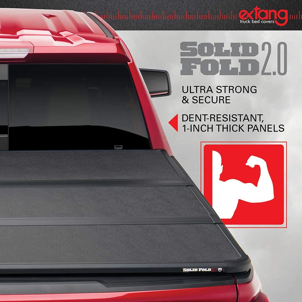 Extang Solid Fold 2.0 Hard Folding Truck Bed Tonneau Cover | 83830 | Fits 2016-20 Toyota Tacoma 5' Bed