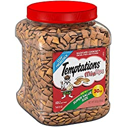 TEMPTATIONS MixUps Cat Treats BACKYARD COOKOUT Flavor, 30 oz. Tub