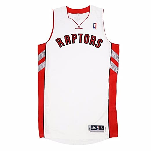 a4c0a2017 adidas Toronto Raptors NBA White Official Authentic On-Court Revolution 30  Home Jersey for Men